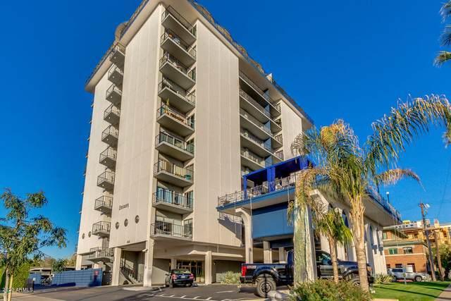 805 N 4TH Avenue #202, Phoenix, AZ 85003 (MLS #6113064) :: Brett Tanner Home Selling Team
