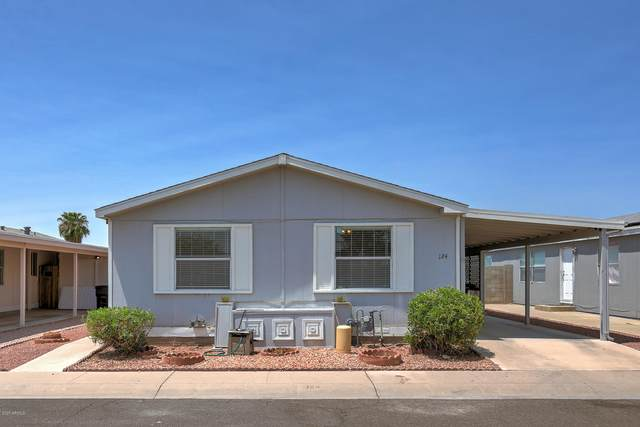 11275 N 99TH Avenue #124, Peoria, AZ 85345 (MLS #6113704) :: Lucido Agency