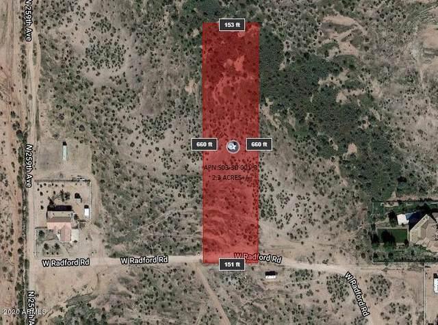 25800 W Radford Road, Wittmann, AZ 85361 (MLS #6113850) :: Brett Tanner Home Selling Team
