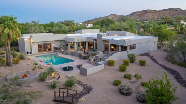8009 N Ironwood Drive, Paradise Valley, AZ 85253 (MLS #6114237) :: Power Realty Group Model Home Center