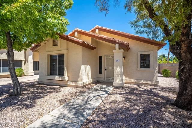 1120 N Val Vista Drive #102, Gilbert, AZ 85234 (MLS #6114985) :: Brett Tanner Home Selling Team