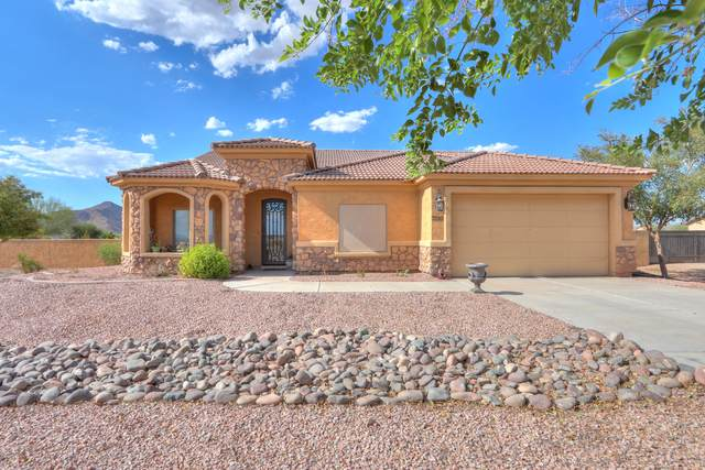 7010 W Appaloosa Trail, Coolidge, AZ 85128 (MLS #6115219) :: Russ Lyon Sotheby's International Realty