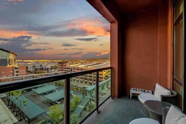 310 S 4TH Street #907, Phoenix, AZ 85004 (MLS #6115562) :: REMAX Professionals
