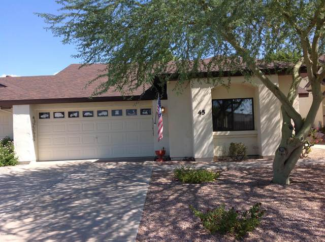 5518 E Lindstrom Lane #45, Mesa, AZ 85215 (MLS #6115587) :: CANAM Realty Group