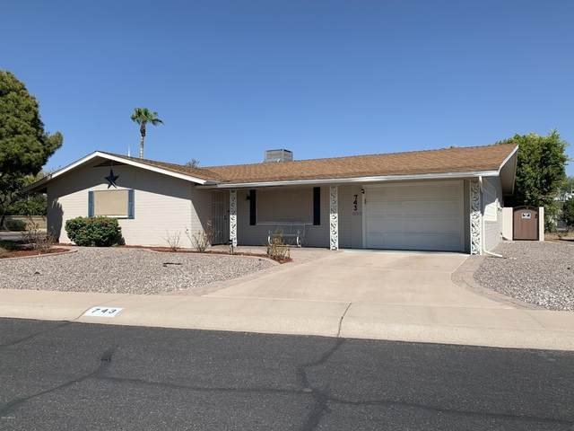 743 N 55th Place, Mesa, AZ 85205 (#6115655) :: AZ Power Team | RE/MAX Results