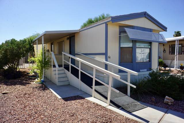 1280 N Ironwood Drive #61, Apache Junction, AZ 85120 (MLS #6116775) :: Conway Real Estate