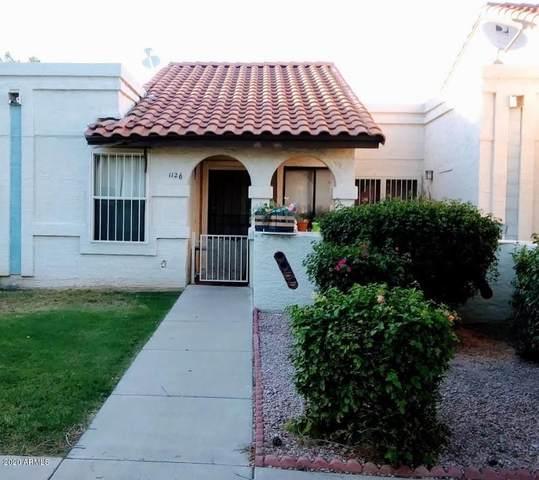 5136 E Evergreen Street #1126, Mesa, AZ 85205 (MLS #6117501) :: Kepple Real Estate Group