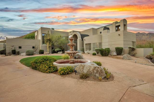 10144 E Foothills Drive, Scottsdale, AZ 85255 (MLS #6119670) :: Budwig Team   Realty ONE Group