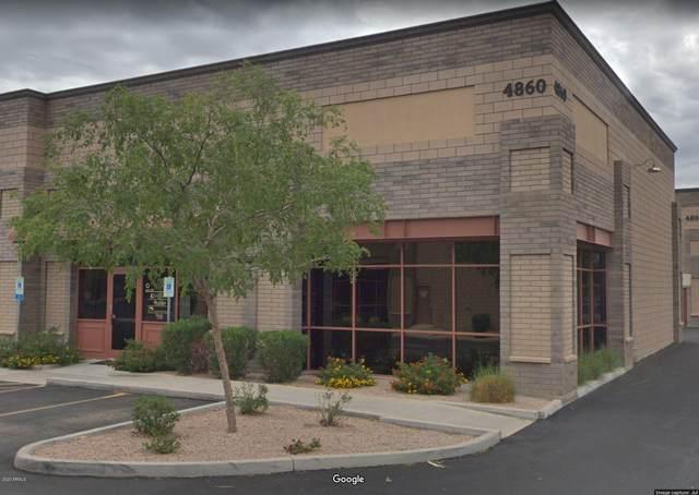 4860 E Baseline Road #107, Mesa, AZ 85206 (MLS #6120317) :: Conway Real Estate