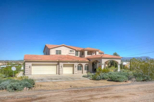 3106 W Blue Eagle Lane, Desert Hills, AZ 85086 (MLS #6121630) :: The Riddle Group