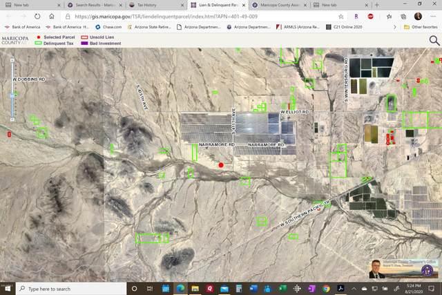 0 Near Narramore Rd & S. 411th Avenue, Tonopah, AZ 85354 (MLS #6122499) :: The Property Partners at eXp Realty