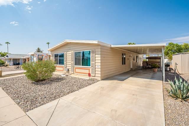 201 S Greenfield Road #355, Mesa, AZ 85206 (MLS #6124539) :: Conway Real Estate