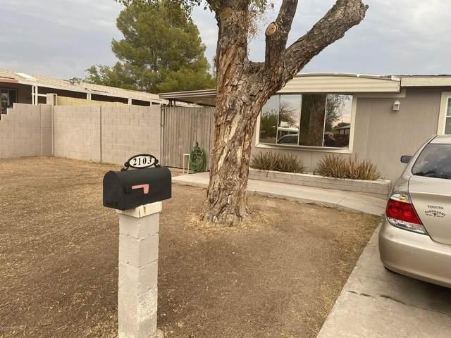 2103 N Silverton Street, Mesa, AZ 85203 (MLS #6125782) :: Conway Real Estate