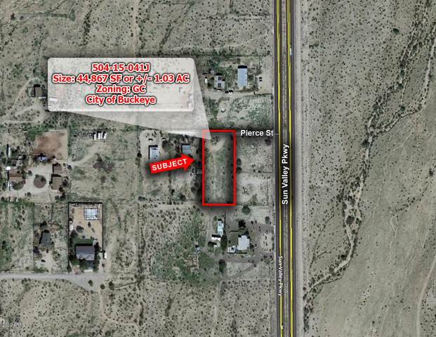 XXXX W Pierce Street, Buckeye, AZ 85396 (MLS #6126992) :: Scott Gaertner Group