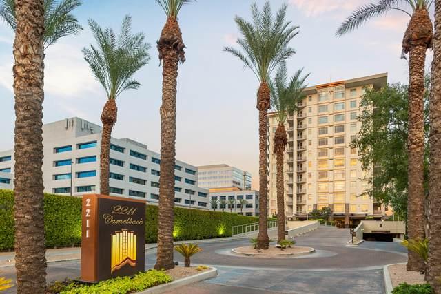 2211 E Camelback Road #1105, Phoenix, AZ 85016 (MLS #6127756) :: Conway Real Estate