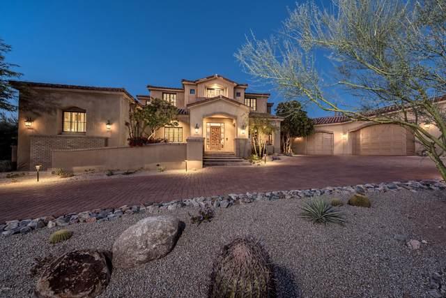 9820 E Thompson Peak Parkway #724, Scottsdale, AZ 85255 (MLS #6128867) :: The Laughton Team
