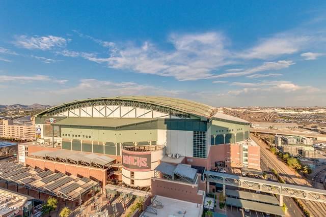310 S 4TH Street #1709, Phoenix, AZ 85004 (MLS #6129215) :: Brett Tanner Home Selling Team