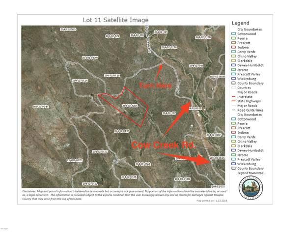 0 N Cow Creek  Lot 11 Road, Morristown, AZ 85342 (MLS #6129238) :: Klaus Team Real Estate Solutions