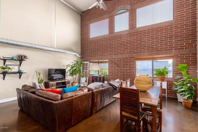 424 S 2ND Street #207, Phoenix, AZ 85004 (MLS #6129362) :: Conway Real Estate