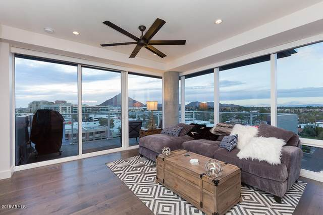 4422 N 75TH Street #7001, Scottsdale, AZ 85251 (MLS #6130553) :: The Property Partners at eXp Realty