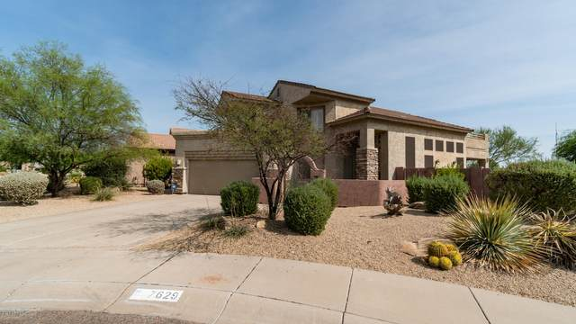 7629 E Via Del Sol Drive, Scottsdale, AZ 85255 (MLS #6130809) :: Riddle Realty Group - Keller Williams Arizona Realty