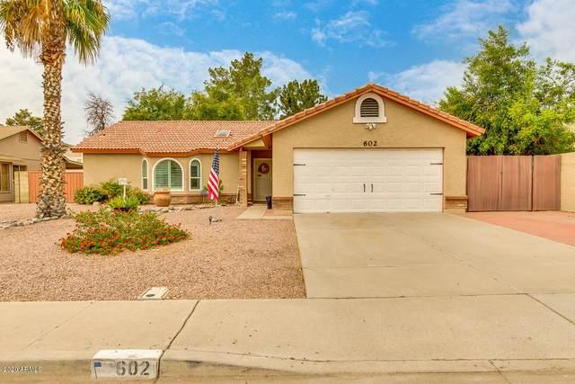 602 S Winthrop Street, Gilbert, AZ 85296 (MLS #6131316) :: The Property Partners at eXp Realty