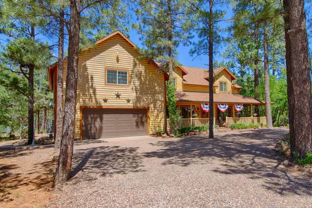3090 Mark Twain Drive, Pinetop, AZ 85935 (MLS #6131400) :: Brett Tanner Home Selling Team