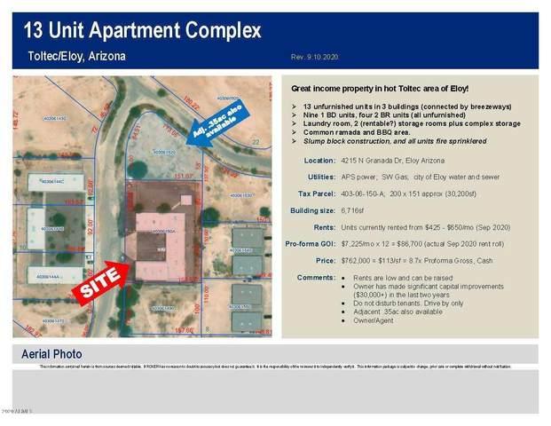 4215 N Granada Drive, Eloy, AZ 85131 (MLS #6131598) :: Lucido Agency