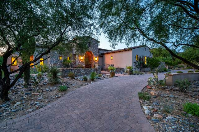 10114 E Hualapai Drive, Scottsdale, AZ 85255 (MLS #6131729) :: The Bill and Cindy Flowers Team