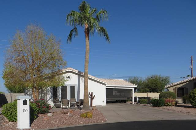 2101 S Meridian Road #110, Apache Junction, AZ 85120 (MLS #6131769) :: Conway Real Estate