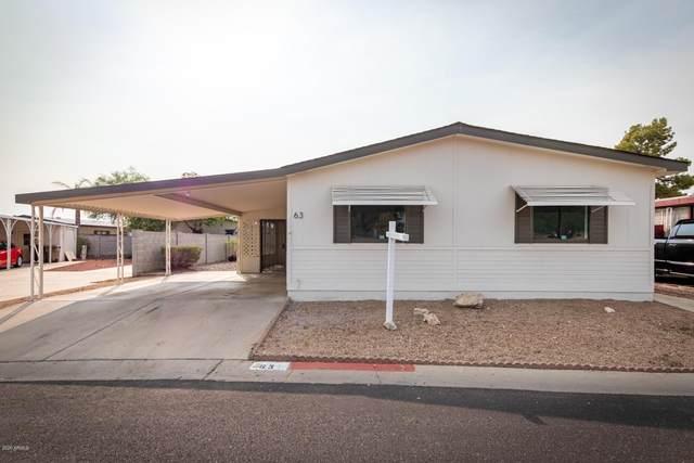 8601 N 103RD Avenue Lot 63, Peoria, AZ 85345 (MLS #6131966) :: Conway Real Estate