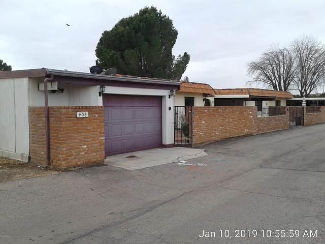 2550 E 15TH Street #403, Douglas, AZ 85607 (#6132095) :: Luxury Group - Realty Executives Arizona Properties