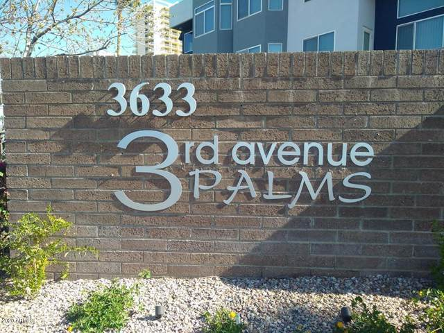 3633 N 3RD Avenue #2013, Phoenix, AZ 85013 (MLS #6132362) :: The Property Partners at eXp Realty