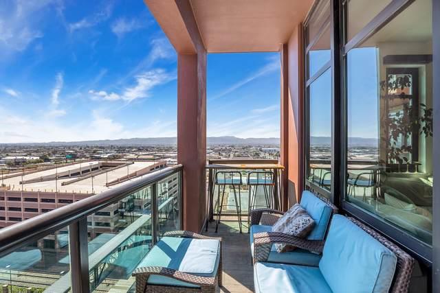 310 S 4TH Street #1109, Phoenix, AZ 85004 (MLS #6133192) :: Brett Tanner Home Selling Team