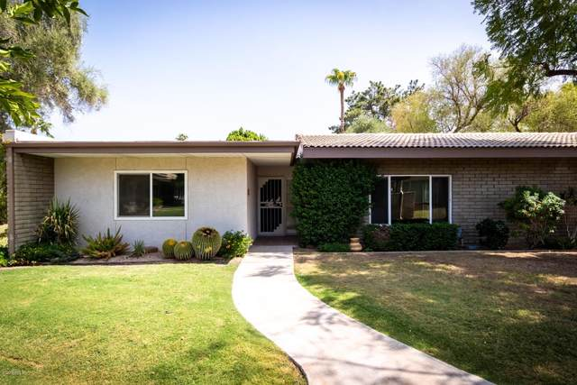 4800 N 68TH Street #302, Scottsdale, AZ 85251 (MLS #6133392) :: Conway Real Estate