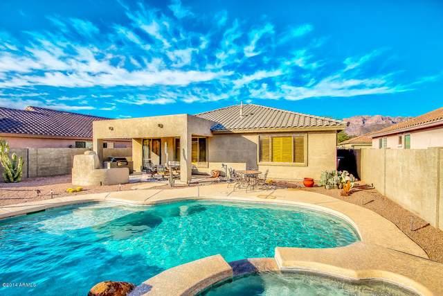 7655 E Desert Honeysuckle Drive, Gold Canyon, AZ 85118 (MLS #6133456) :: The Laughton Team