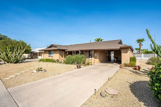 10702 W Canterbury Drive, Sun City, AZ 85351 (MLS #6133553) :: Riddle Realty Group - Keller Williams Arizona Realty