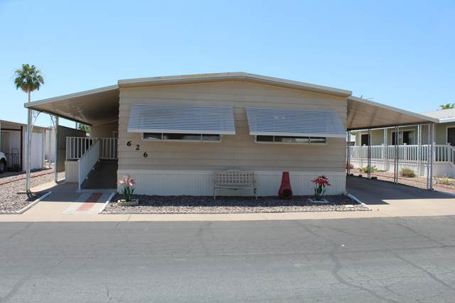 301 S Signal Butte Road #626, Apache Junction, AZ 85120 (MLS #6134521) :: Conway Real Estate