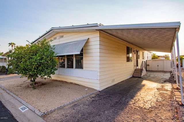 8780 E Mckellips Road #109, Scottsdale, AZ 85257 (MLS #6134575) :: Conway Real Estate
