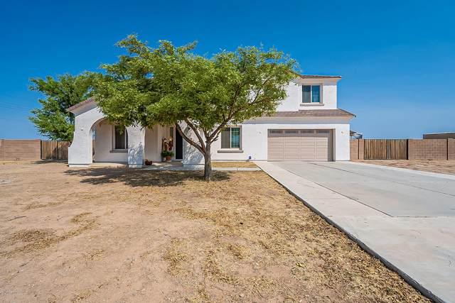 8826 E Stone Road, Coolidge, AZ 85128 (MLS #6134616) :: The Laughton Team