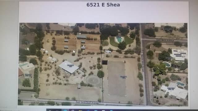6521 E Shea Boulevard E, Scottsdale, AZ 85254 (MLS #6135507) :: Lifestyle Partners Team