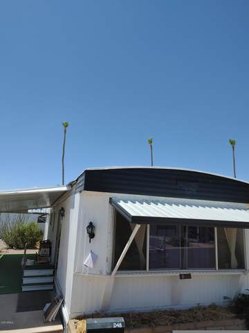 2600 E Allred Avenue D48, Mesa, AZ 85204 (MLS #6135993) :: Klaus Team Real Estate Solutions