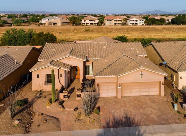 20092 N Evening Glow Trail, Maricopa, AZ 85138 (#6136001) :: AZ Power Team | RE/MAX Results