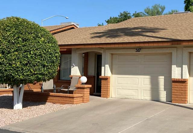 8020 E Keats Avenue #317, Mesa, AZ 85209 (MLS #6136814) :: Devor Real Estate Associates
