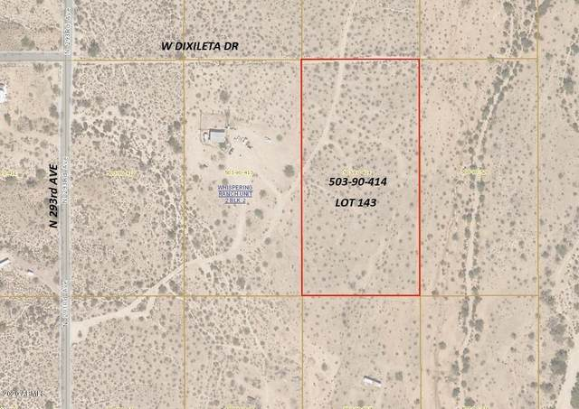 292XX W Dixileta Drive, Wittmann, AZ 85361 (MLS #6136866) :: Devor Real Estate Associates