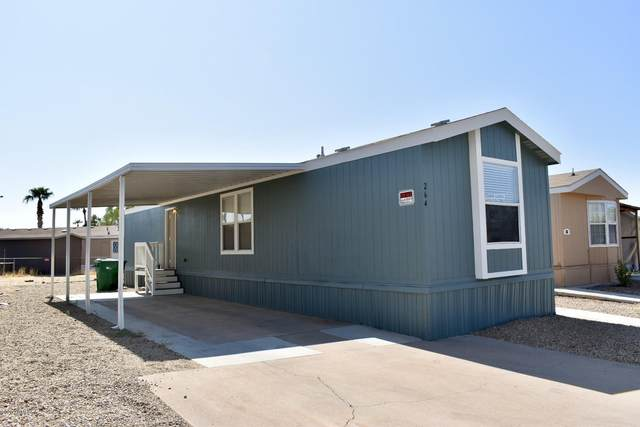 1650 S Arizona Avenue #264, Chandler, AZ 85286 (MLS #6136981) :: Keller Williams Realty Phoenix