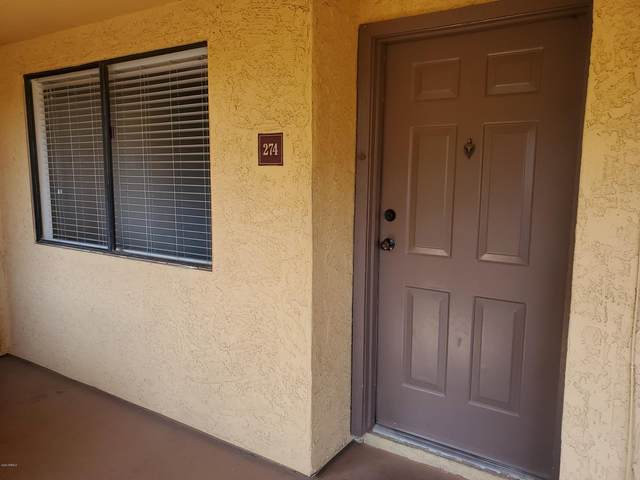 3535 W Tierra Buena Lane #274, Phoenix, AZ 85053 (MLS #6137252) :: Brett Tanner Home Selling Team