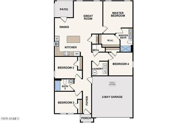 2388 N Greenbrier Lane, Casa Grande, AZ 85122 (MLS #6137396) :: My Home Group