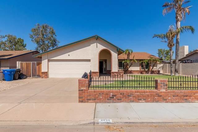 2938 E Enid Avenue, Mesa, AZ 85204 (MLS #6137662) :: Brett Tanner Home Selling Team
