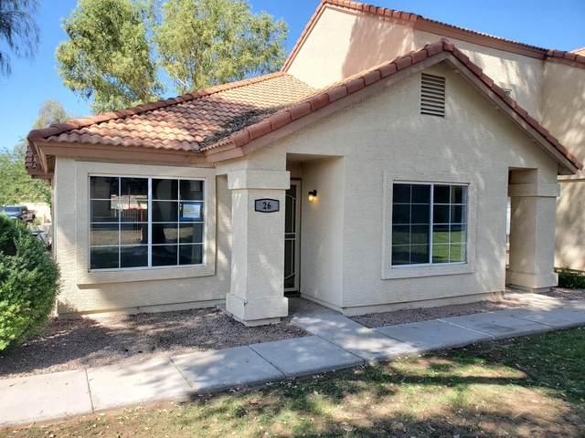 5808 E Brown Road #26, Mesa, AZ 85205 (MLS #6138169) :: RE/MAX Desert Showcase
